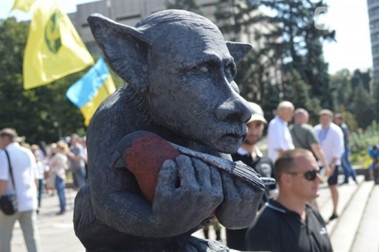 Памятник киевскому князю Владимиру открыли в Москве - Цензор.НЕТ 6811