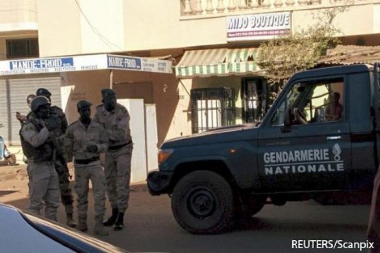В Мали террористы захватили 170 заложников в отеле
