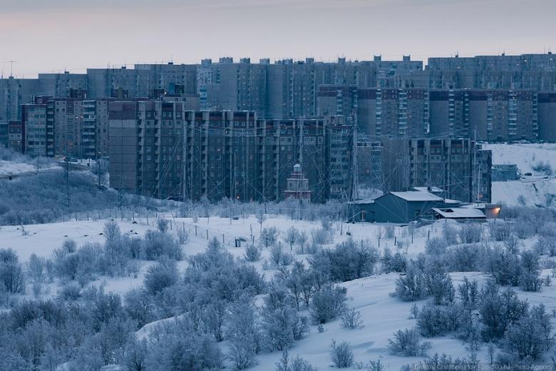 ВРФ Мурманск остался без газоснабжения в30-градусный мороз