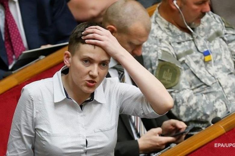 Савченко ответила Геращенко на обвинения в связях