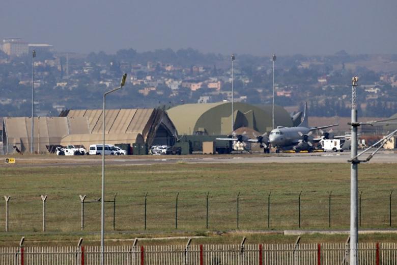 Натурецкой авиабазе Инджирлик усилены меры безопасности