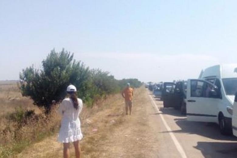 Крым готовится кпробкам натрассах из-за массового отъезда туристов
