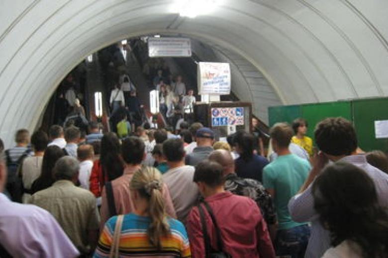 ВКиеве «заминировали» центральные станции метро