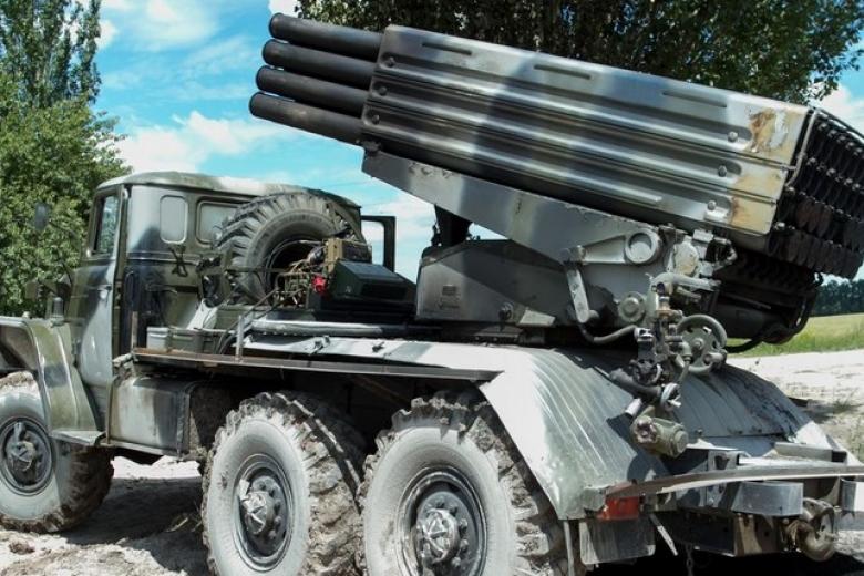 В захваченный Донбасс идут «Грады» из Российской Федерации