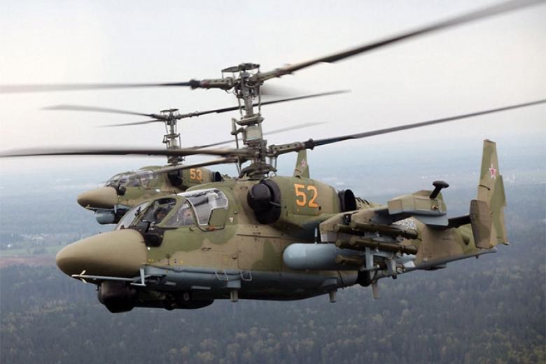 Наадмингранице сКрымом зафиксировали семь российских вертолетов