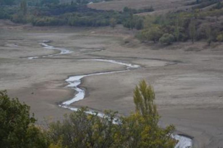 ВКрыму навсе 100% высохло одно изводохранилищ