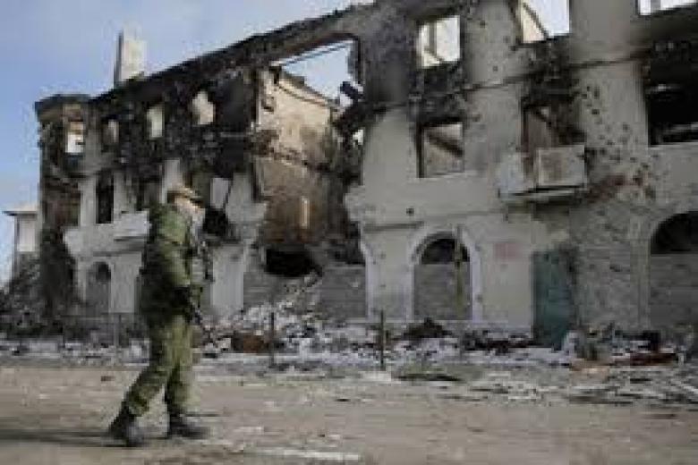 Репортеры Bild показали разрушенное российскими войсками Широкино впанорамном видео