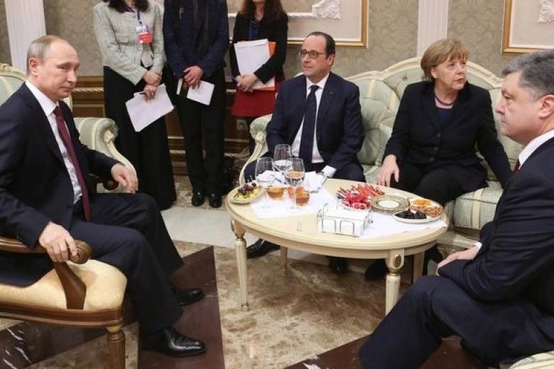 Путин, Меркель иОлланд после «нормандской» встречи переговорят поСирии