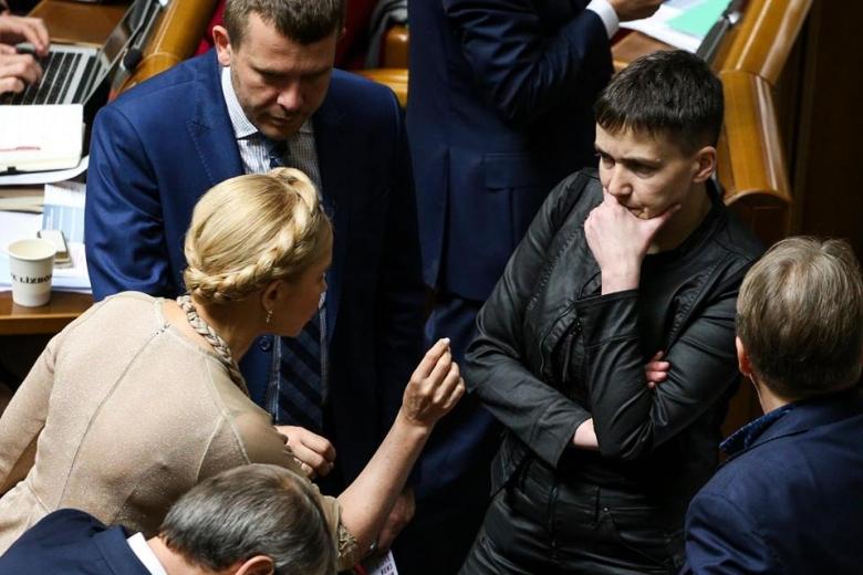 Тимошенко назвала поездку Савченко в столицуРФ  «героическим поступком»