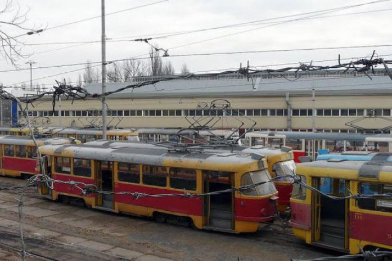 Втрамвайном депо вКиеве произошел взрыв, погибла женщина