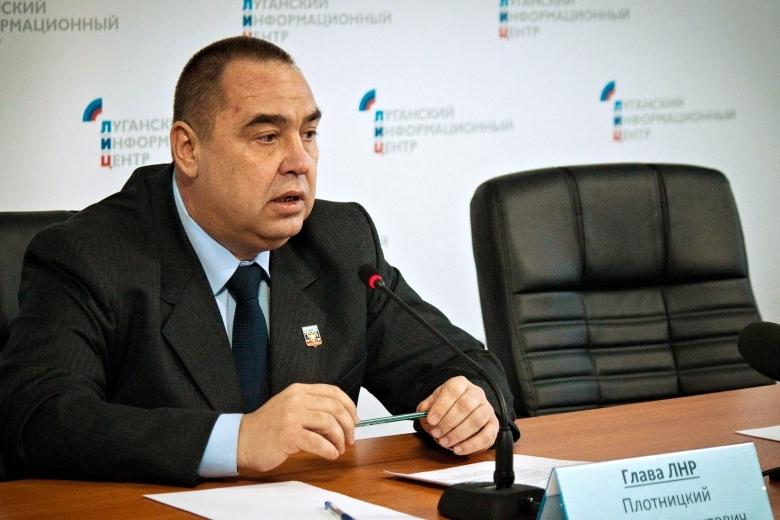 За заезд в«ЛНР» нужно будет платить вевро— Кризис Плотницкого