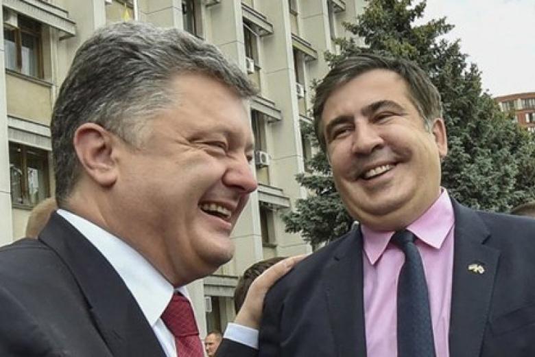 Саакашвили направил объявление оботставке вАП