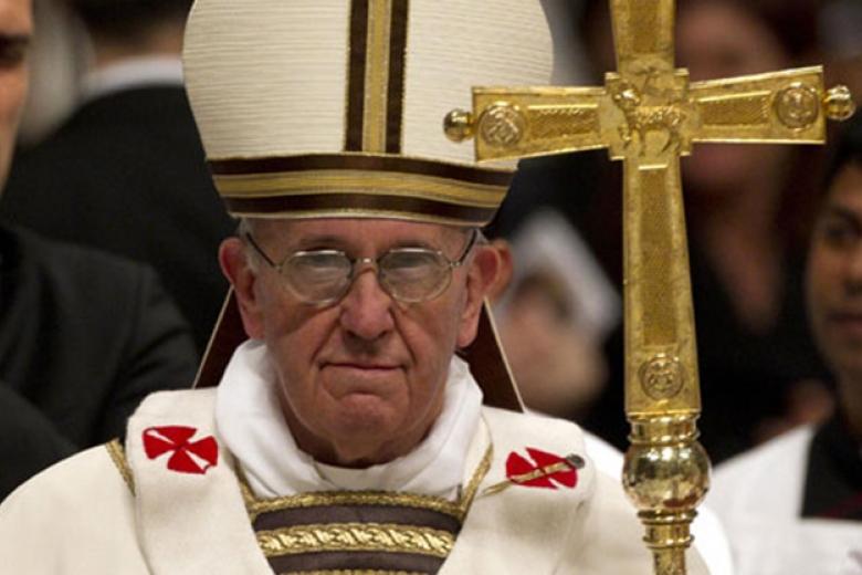 Папа Франциск попросил убездомных извинения отлица всех христиан