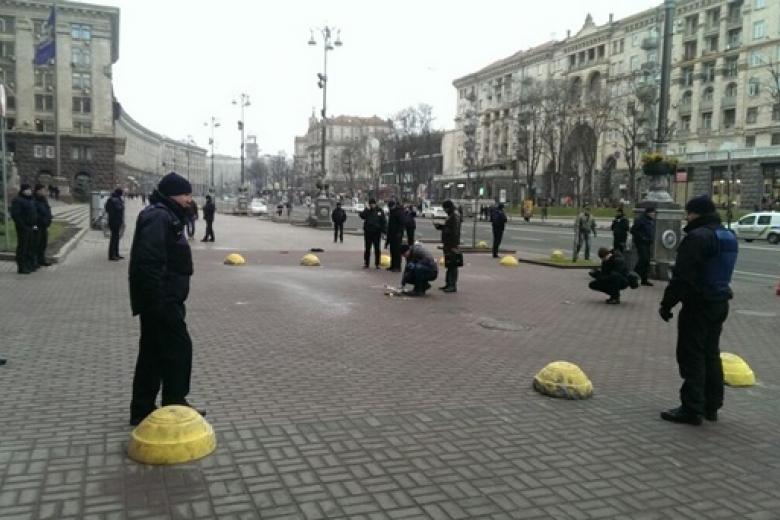 Стали известны причины взрыва вКиеве около здания КГГА