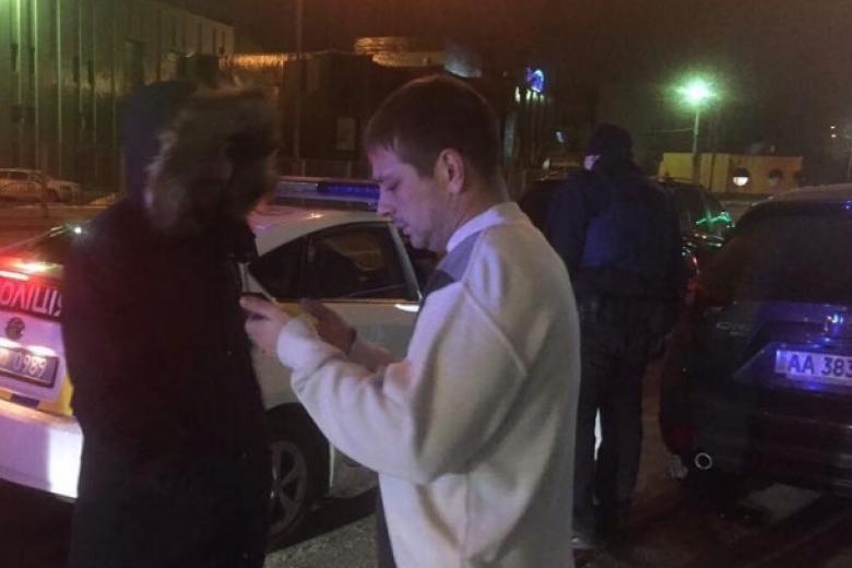 ВКиеве патрульные гонялись за нетрезвыми сотрудниками СБУ