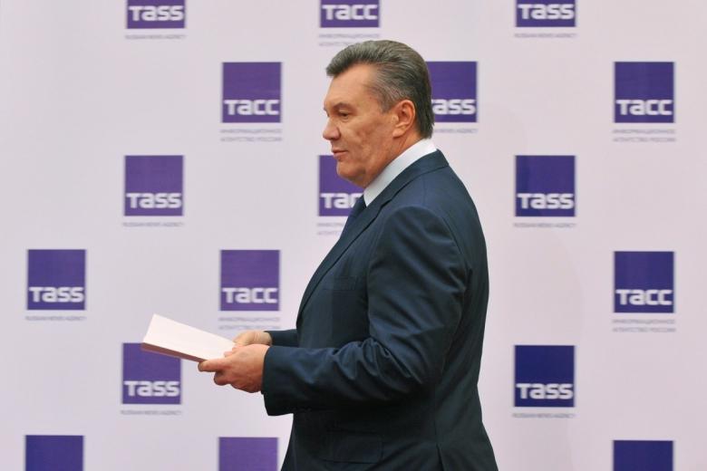 Виктор Янукович прибыл напресс-конференцию вРостове-на-Дону