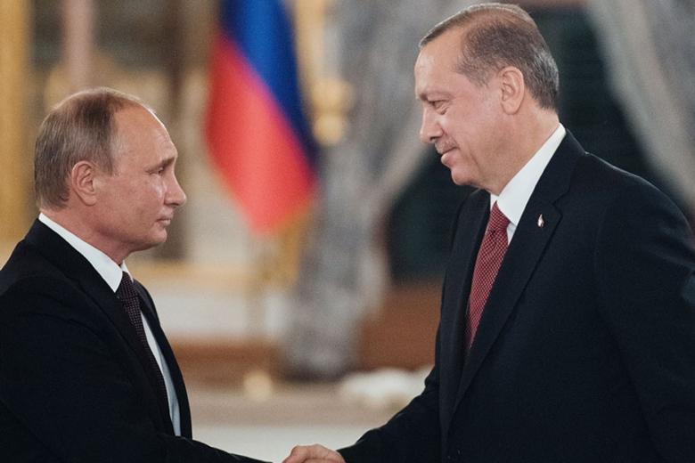 Эрдоган предложил Путину перейти наторговлю внациональных валютах