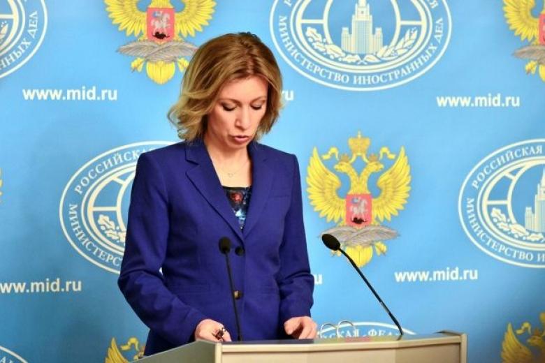 Захарова опровергла ругательства Лаврова вадрес репортеров