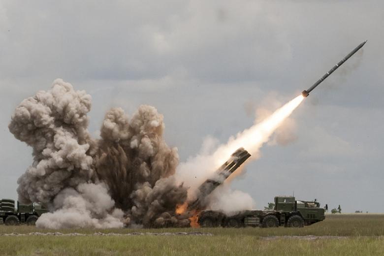 Вгосударстве Украина показали старт новейшей высокоточной ракеты вблизи