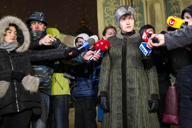 Депутат: Надежда Савченко вышла из«Батькивщины»