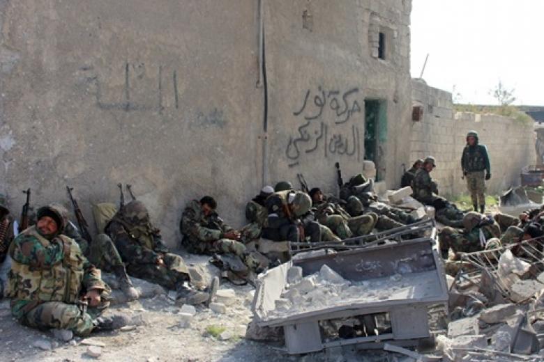 Сирийские повстанцы заявили оначале контрнаступления вАлеппо