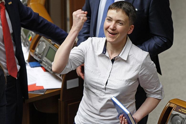 Савченко сегодня могут исключить изделегации Украины вПАСЕ
