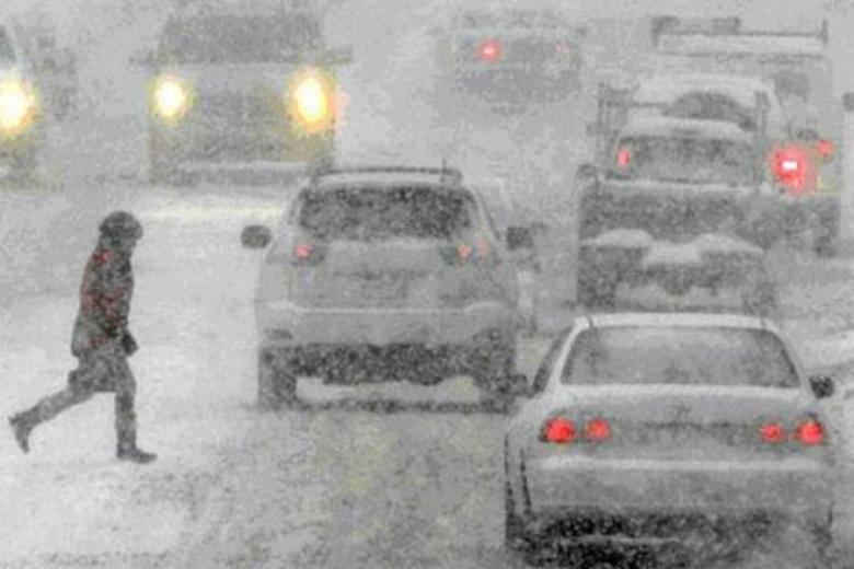 Завтра вгосударстве Украина выпадет до35см снега (КАРТА)— Рождественская метель