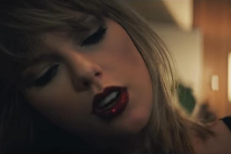 Тейлор Свифт показала клип к«На50 оттенков темнее»