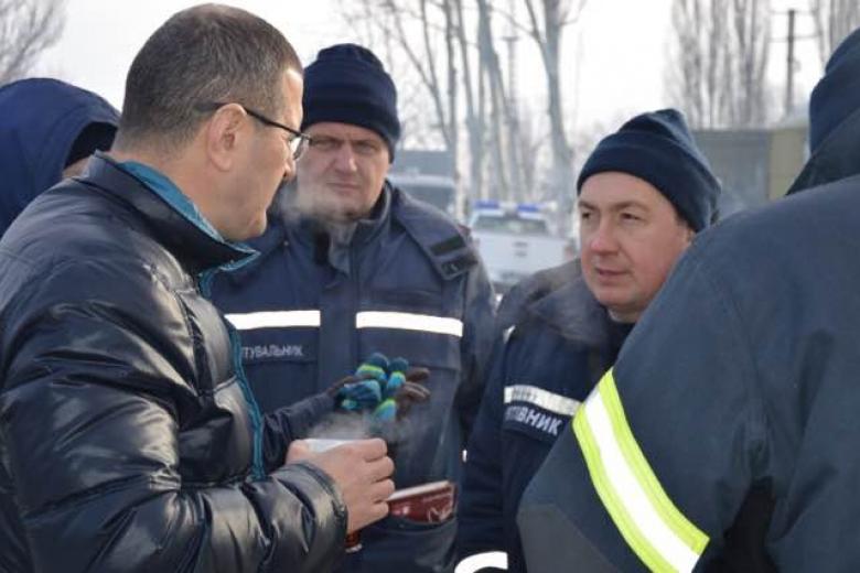 Ситуация вАвдеевке: кэлектроснабжению подключено 80% города