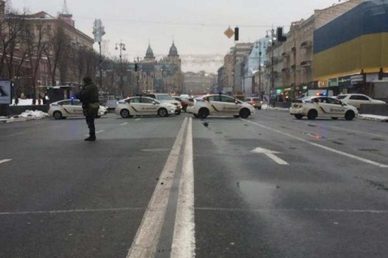 Движение транспорта вцентре украинской столицы запретят на5 суток