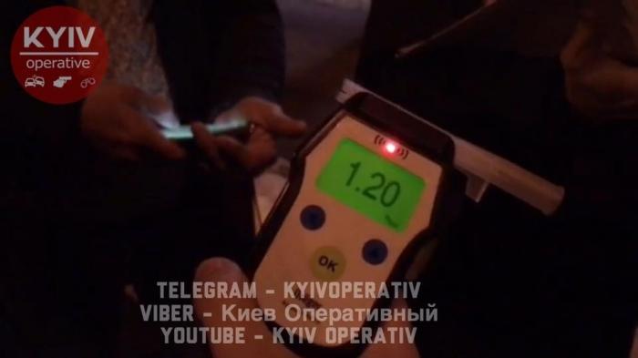 ВКиеве погоня за нетрезвым «помощником Луценко» завершилась ДТП савто милиции