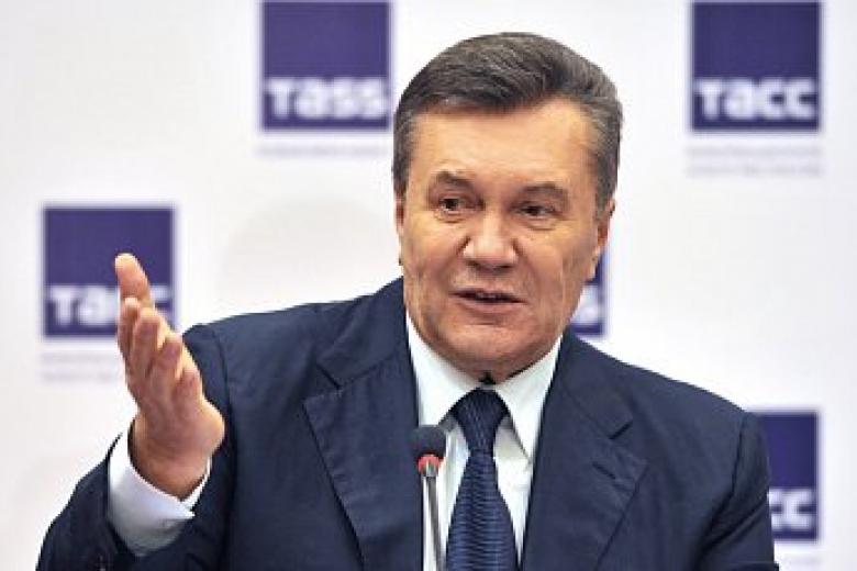 Янепросил вводить войска в Украинское государство — Янукович