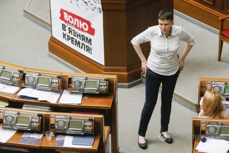 """Савченко;-на Украине существует """"еврейское иго"""", с которым надо бороться."""