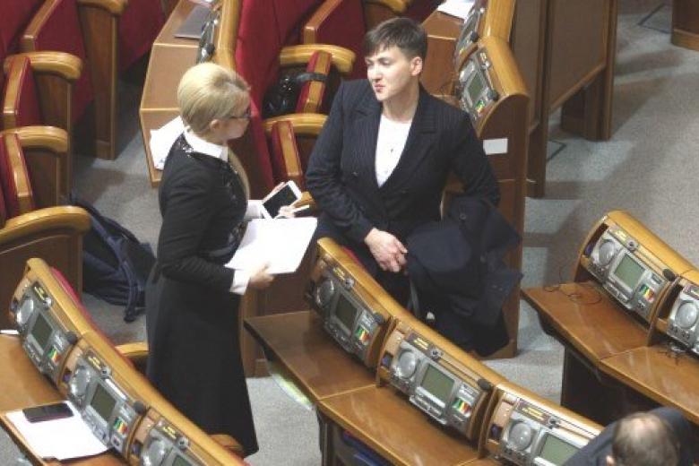 Савченко сравнила Тимошенко схолодной восковой куклой