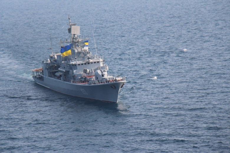 ВМС Украины готовы открыть огонь вслучае провокаций