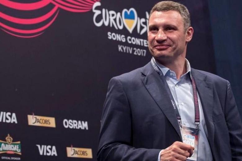 Кличко перед концом «Евровидения»: ядоволен «как все прошло»