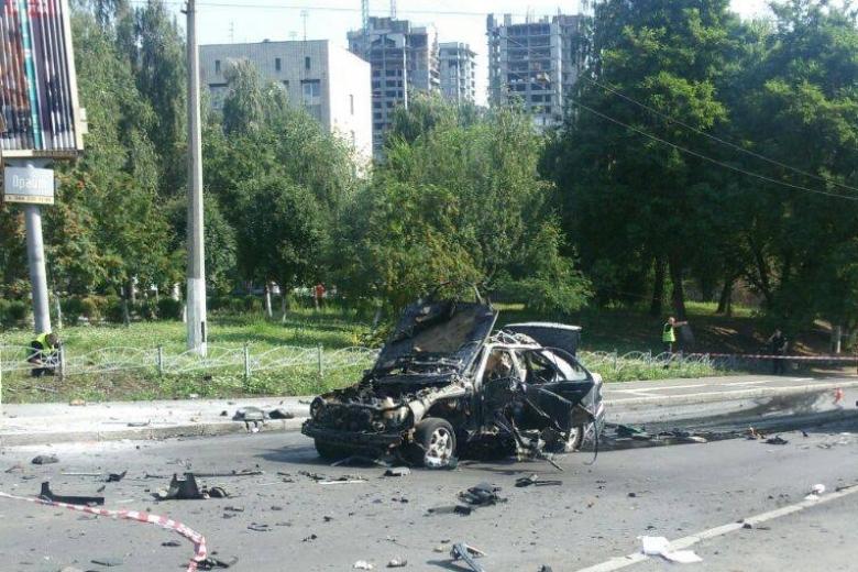 Погибший при взрыве вКиеве разведчик мог руководить охраной Вороненкова