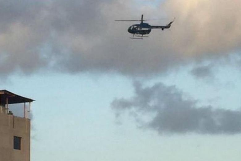 ВВенесуэле вертолет атаковал Верховный суд