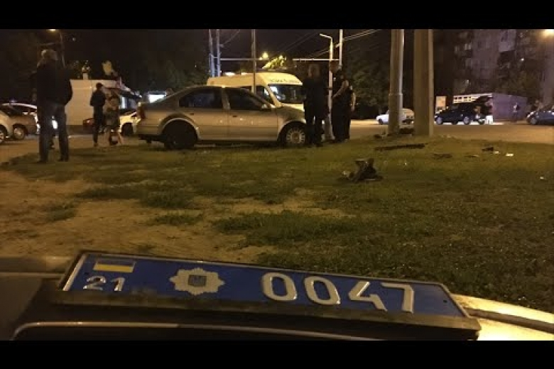 Появились детали ополковнике милиции, устроившем ДТП вХарькове