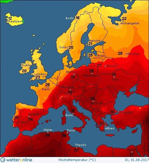 ГСЧС: вУкраинском государстве 4августа сохранится жара