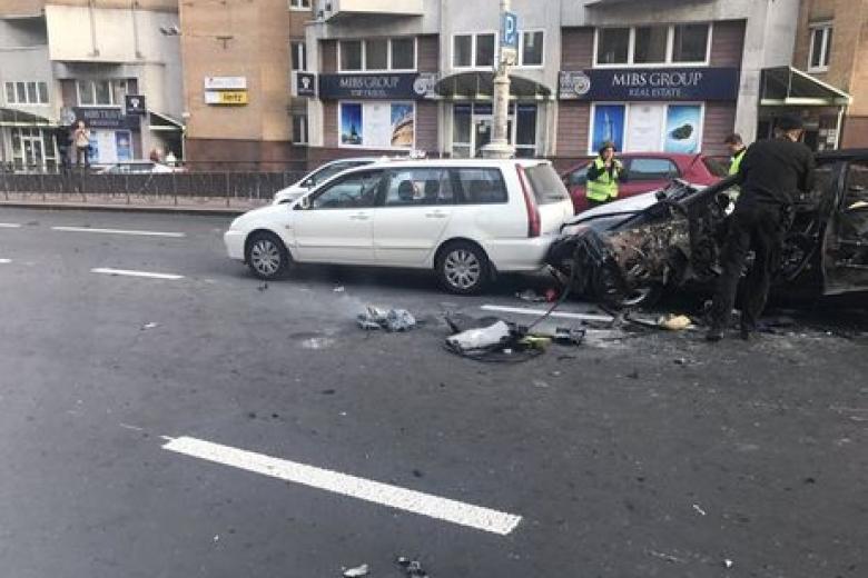 Жертвой взрыва вКиеве стал предполагаемый ликвидатор Басаева