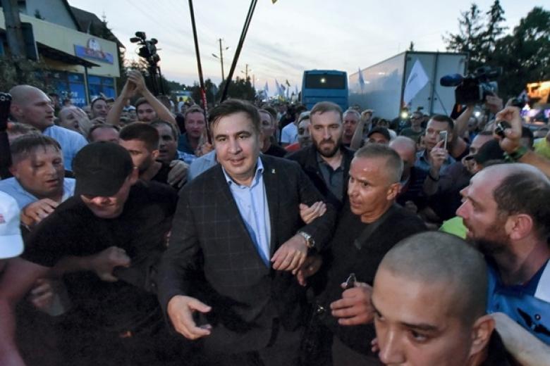 «Сторонники Саакашвили»: Вбазу «Миротворца» попали 3 народного депутата