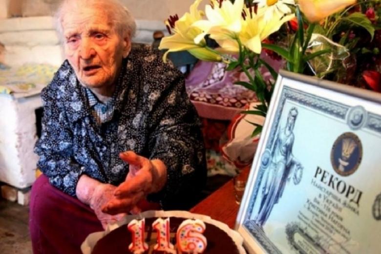 Вгосударстве Украина обнаружили самую старую жительницу планеты