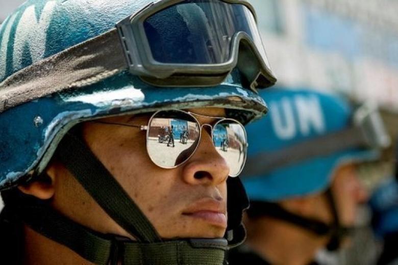 Петр Порошенко высказал вОрганизации Объединенных Наций  свое мнение омиротворческой миссии наДонбассе