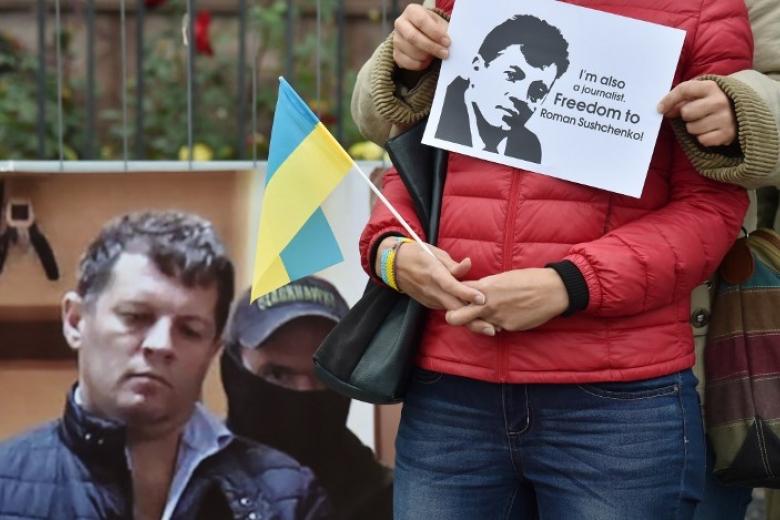 Международная федерация репортеров призвала освободить Сущенко