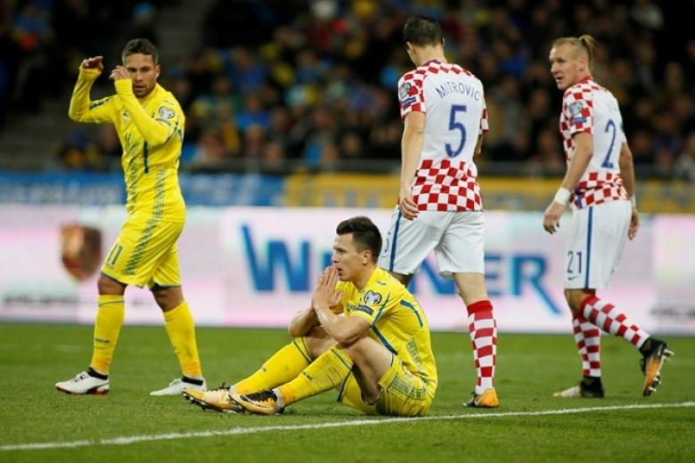 Сборной Украины обещали двойные премиальные запобеду над Хорватией