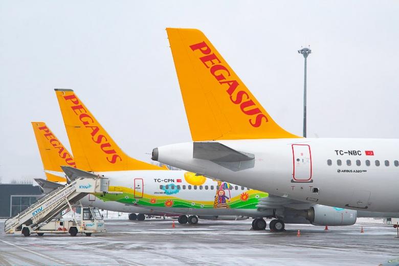 Pegasus Airlines сообщили овыходе на украинский рынок сдочерней компанией