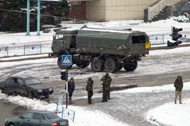 ОБСЕ обнародовала фото военной техники вЛуганске
