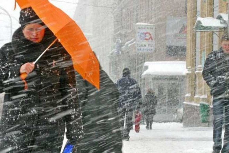 ВУкраинском государстве дожди смокрым снегом, температура до +13