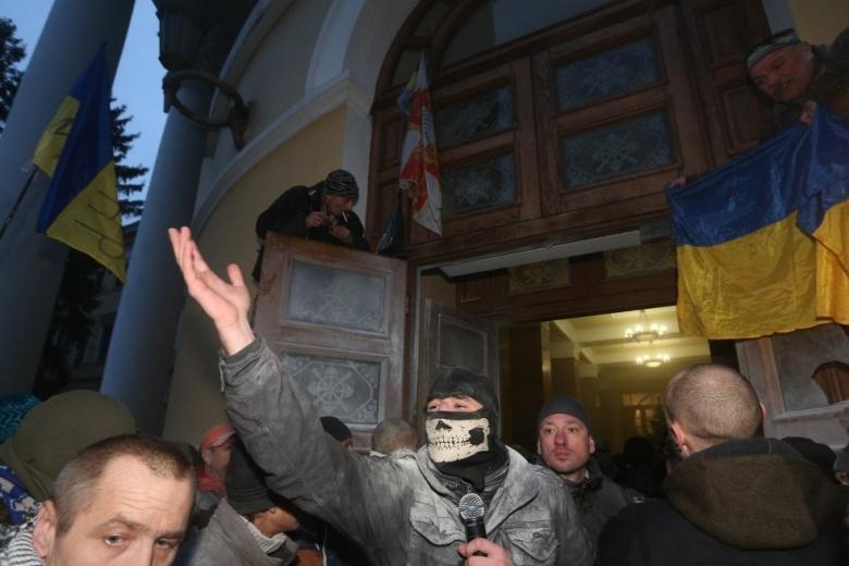 «Спланированная провокация»: Саакашвили прокомментировал штурм Октябрьского замка